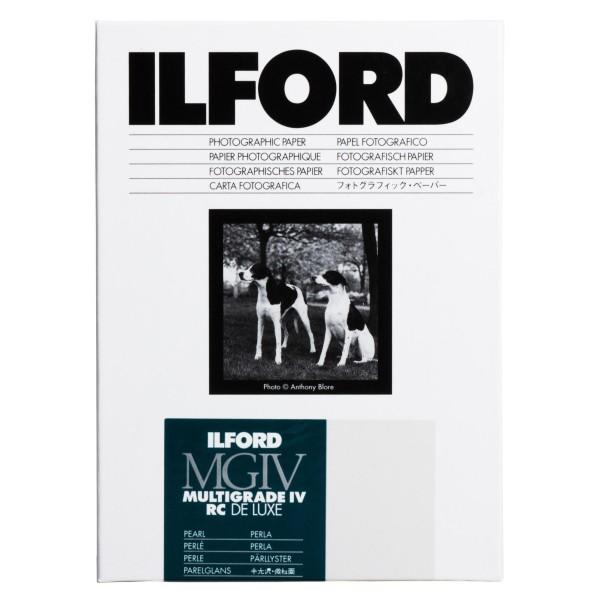 Ilford Multigrade IV 44M RC DeLuxe pearl 17,8 x 24 cm 25 Blatt