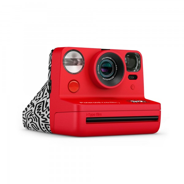 Polaroid Sofortbildamera Now -Keith Haring Edition-