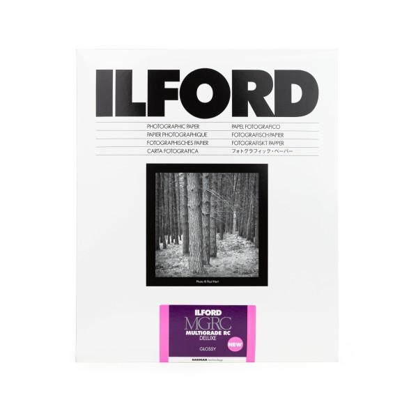 Ilford Multigrade V 1M RC DeLuxe glossy 17,8 x 24 cm 100 Blatt