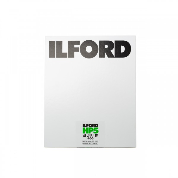 "Ilford HP5 Plus 400 8x10"" 25 Blatt"