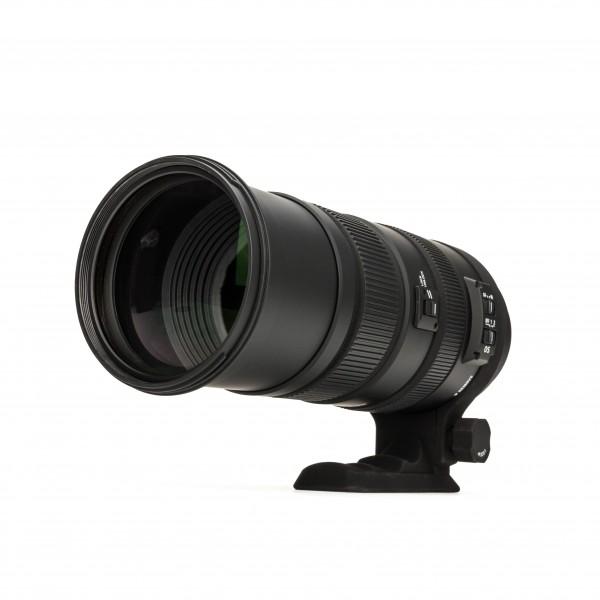 Sigma 150-500 mm F 5.0 6.3 DG OS HSM Zoom Objektiv Megazoom Nikon FX