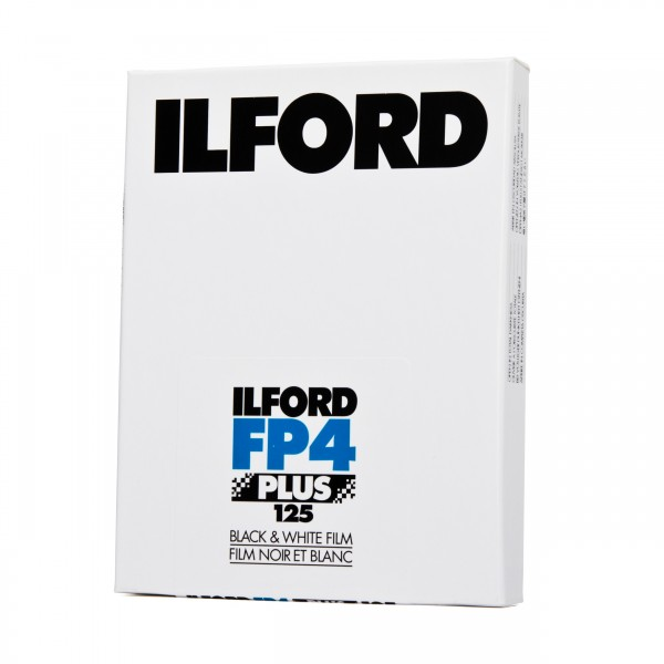 "Ilford FP4 Plus 125 4x5"" 25 Blatt"