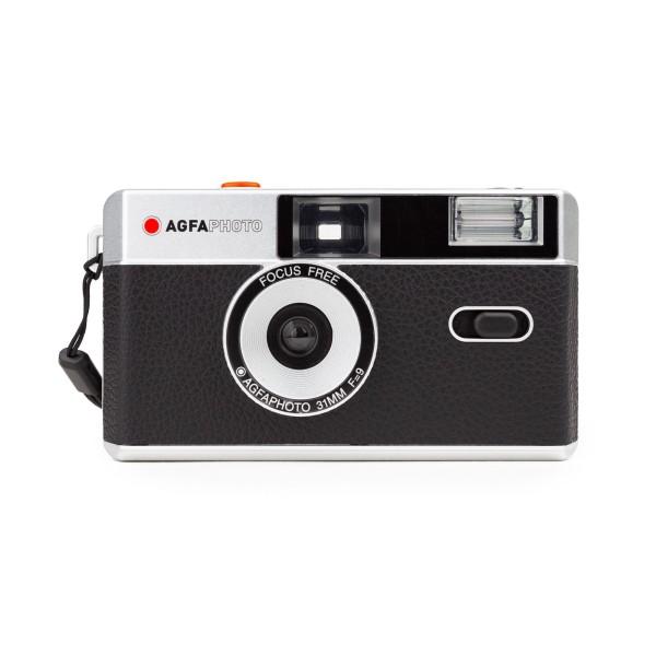 AgfaPhoto analoge Kleinbildkamera schwarz