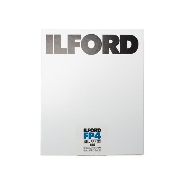 "Ilford FP4 Plus 125 8x10"" 25 Blatt"