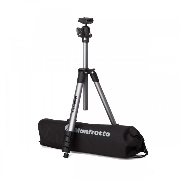 Manfrotto Compact Advanced Stativ, Kugelk, Tasche