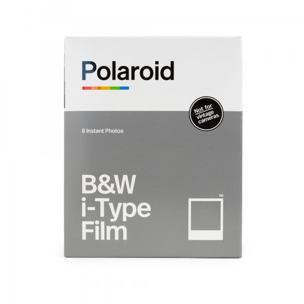 Polaroid I-Type schwarz/weiß, 8 Bilder