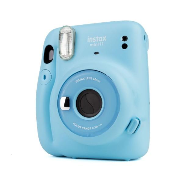 Fuji Instax Mini 11 Sofortbildkamera sky blue