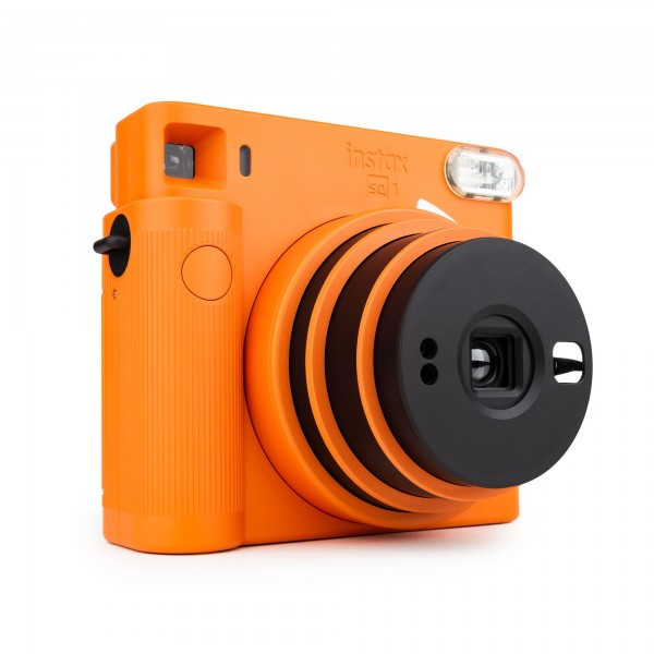 Fuji Instax SQUARE SQ1 Sofortbildkamera terracotta orange
