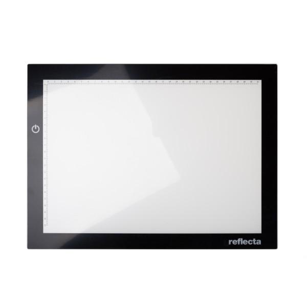 Reflecta Leuchtplatte A4+ Super Slim incl. Netzteil und Farbtemperaturregelung