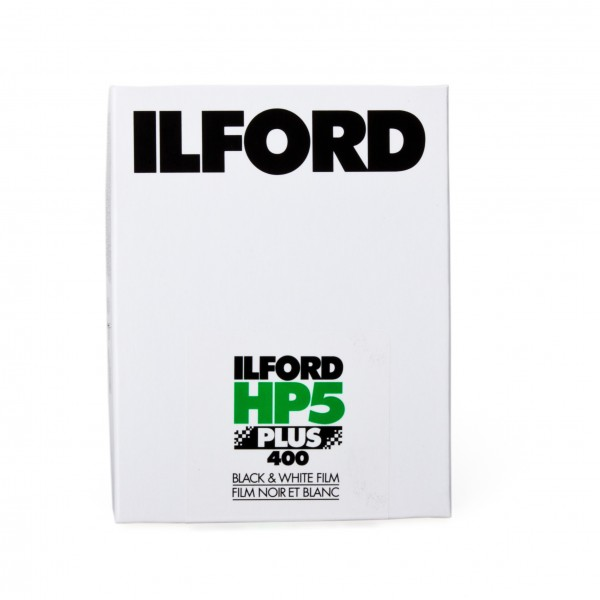"Ilford HP5 Plus 400 4x5"" 25 Blatt"