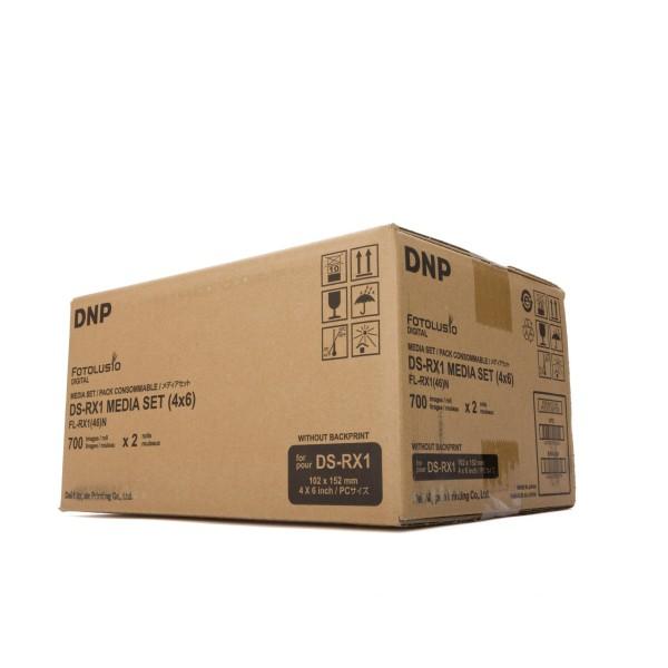 "DNP DS-RX1 Media Set 4x6"" 1400 Print 10x15cm"