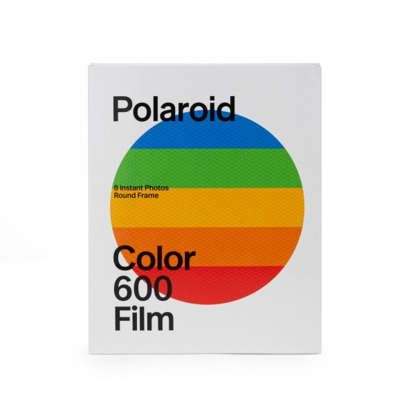 Polaroid 600 Color, -Round-frame- , 8 Bilder