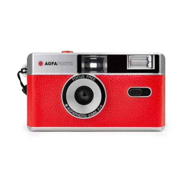 AgfaPhoto analoge Kleinbildkamera rot