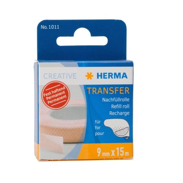 Herma 1011 Transfer Nachfüllrolle 9mm x 15m