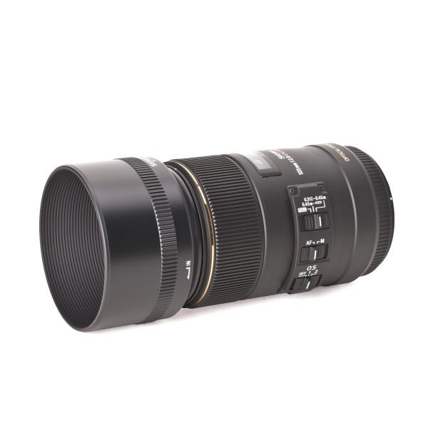 Sigma 105 mm f2.8 EX DG Macro OS HSM hochwertige Makro-Festbrennweite für Nikon