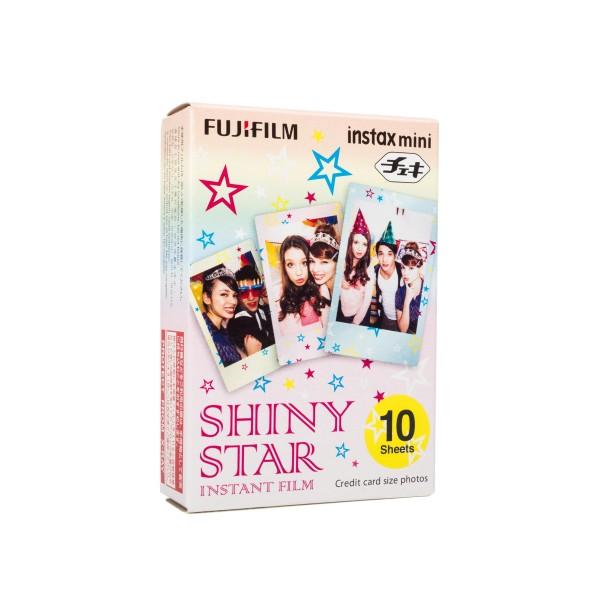 Fuji Instax Mini Shiny Star 10 Blatt