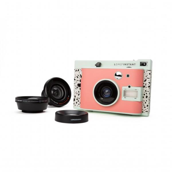B-Ware Lomo Instant Milano Kamera inkl 3 Objektive