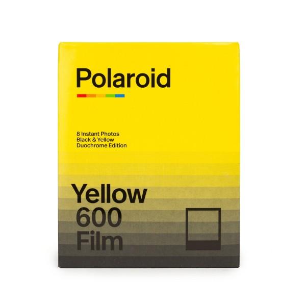 Polaroid 600 Duochrome - Black & Yellow - 8 Bilder