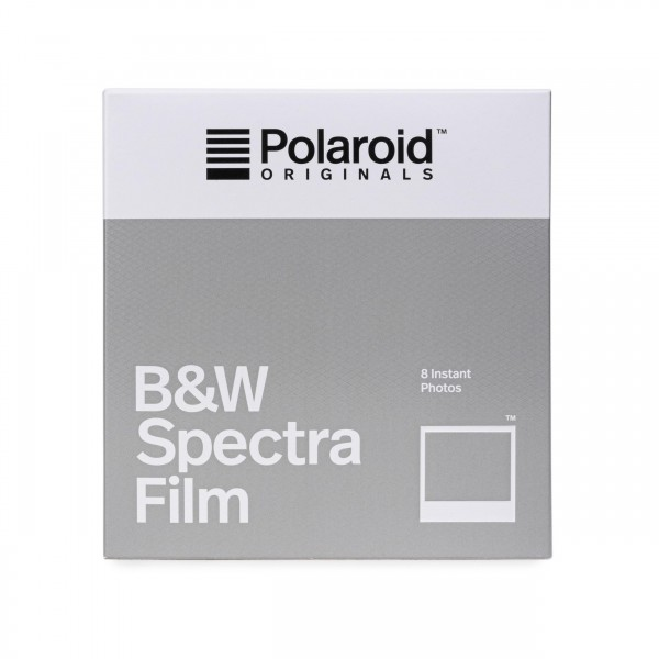 Polaroid Image/Spectra Schwarz/Weiß, 8 Bilder