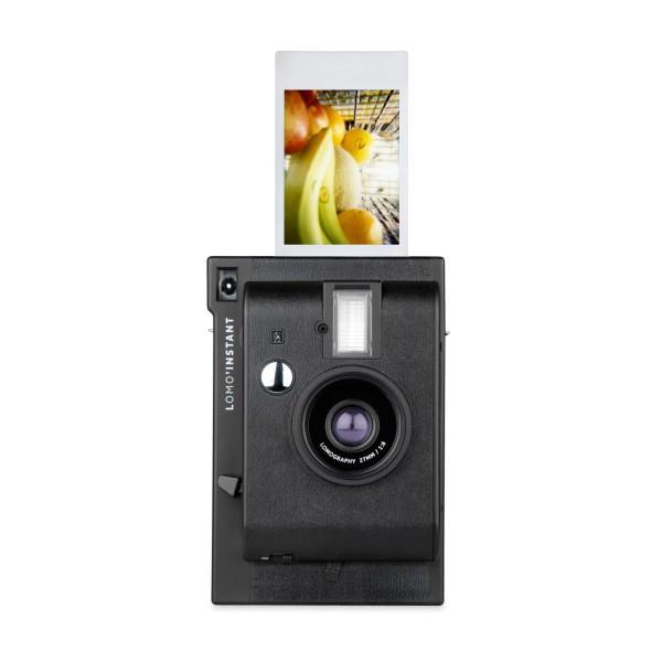Lomography Instant Kamera schwarz