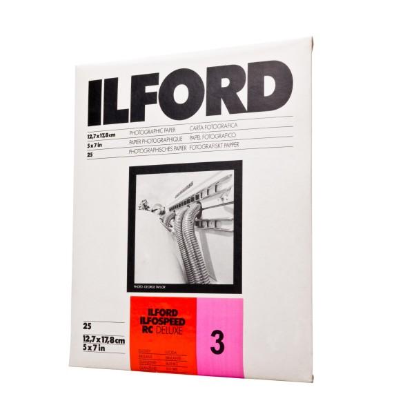 Ilford Ilfospeed RC 3.1M Deluxe Glossy 12,7 x 17,8 cm 25 Blatt