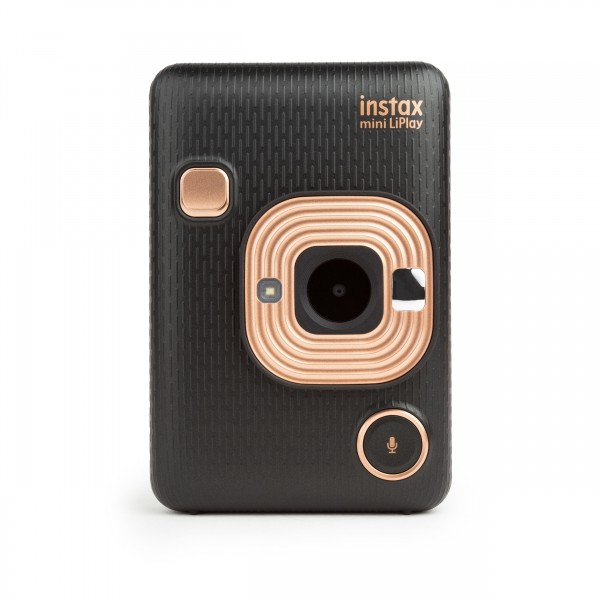 Fuji Instax mini LiPlay Hybride Sofortbildkamera Elegant Black