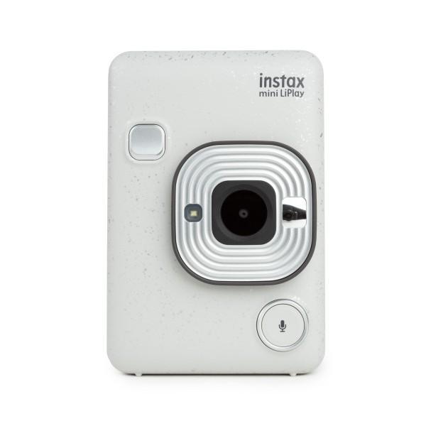Fuji Instax mini LiPlay hybride Sofortbildkamera Stone White