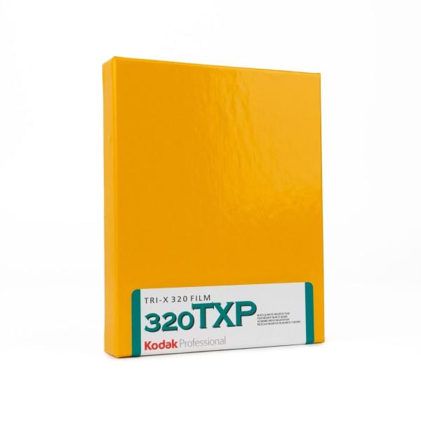 """Kodak TRI-X 320 4x5"""" 10 Blatt"""