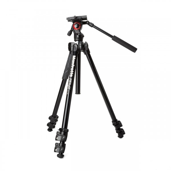 Manfrotto MK290LTA3-V Alu-Stativ m. Video Head