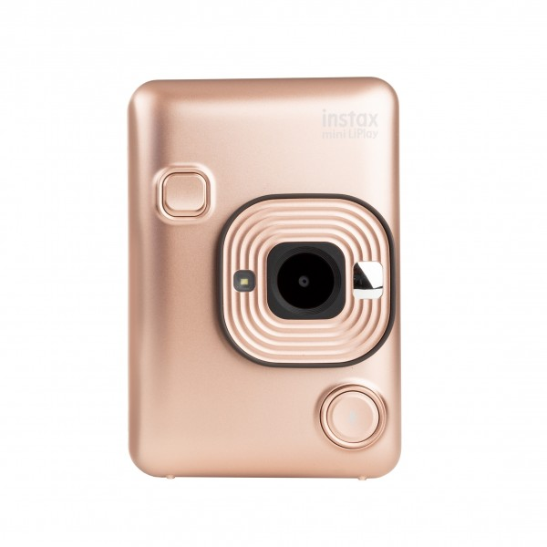 Fuji Instax mini LiPlay hybride Sofortbildkamera Blush Gold