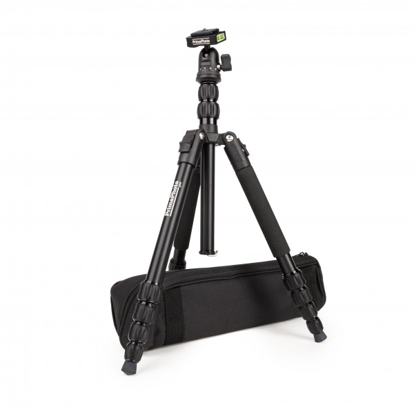 PrimaPhoto Foldable Tripod Kit Black Stativ Kamerastativ Dreibeinstativ B-Ware