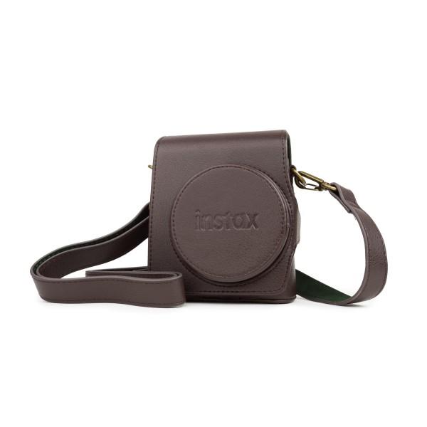 Fuji Instax Mini 90 Case/Tasche braun, PU-Leder