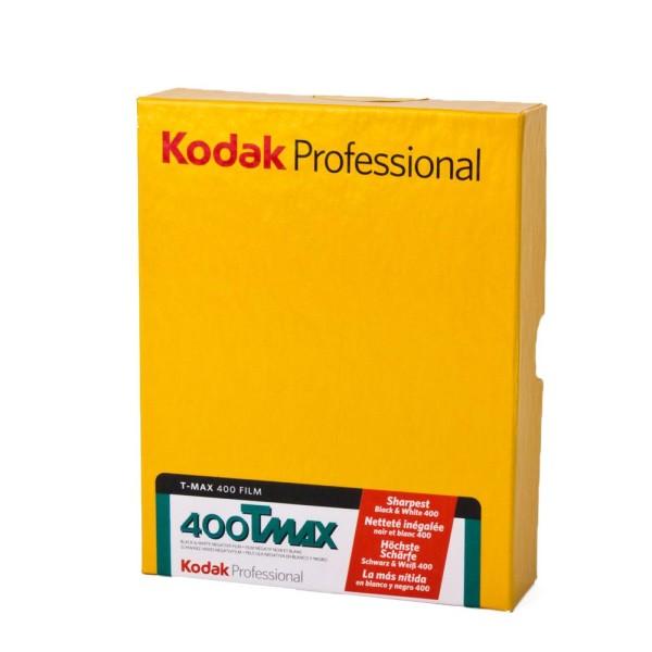 """Kodak T-MAX TMY 400 4x5"""" 50 Blatt - MHD: 04/2018"""