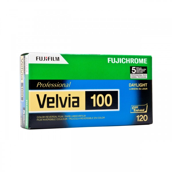 Fujifilm Velvia RVP 100 120 5er