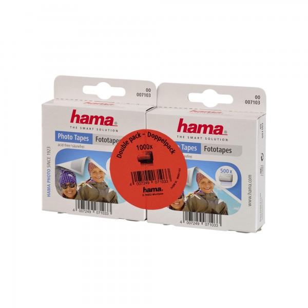 Hama Fototapes 1.000 Stück (2 x 500 Fotokleber)