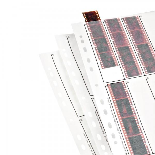 Hama Negativ-Hüllen, Pergamin, 10 Streifen à 4 Negative, 24x36 mm, 25 St. 2252