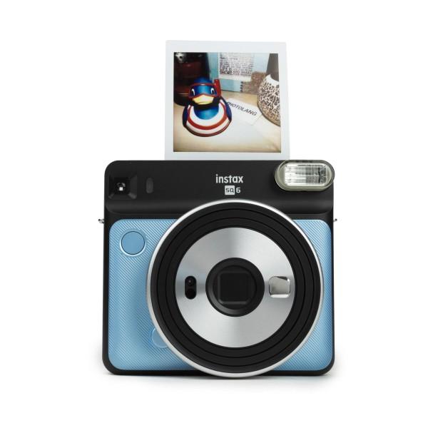 Fuji Instax SQUARE SQ 6 Sofortbildkamera Aqua Blue