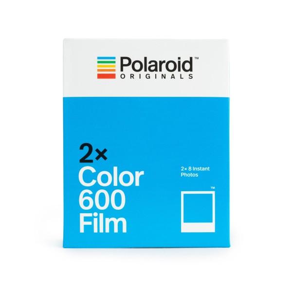 Polaroid 600 Doppelpack (2x Color)