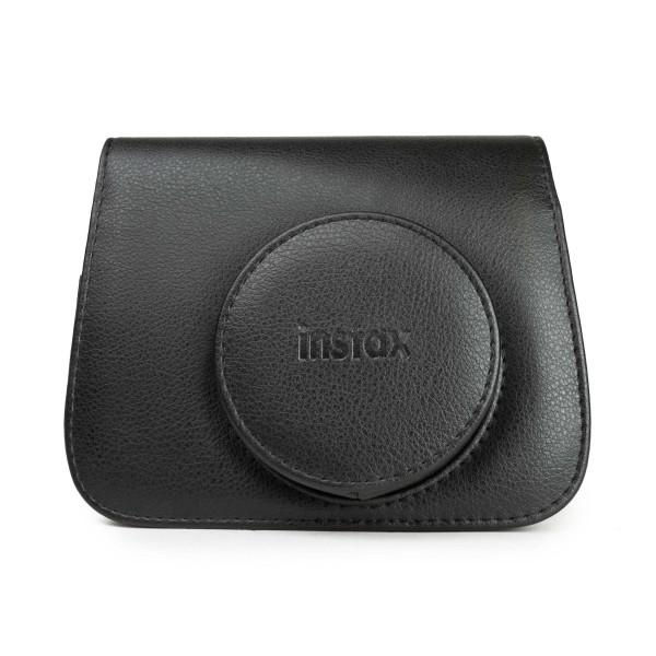 Fuji Instax Wide 300 Case/Tasche schwarz, PU-Leder