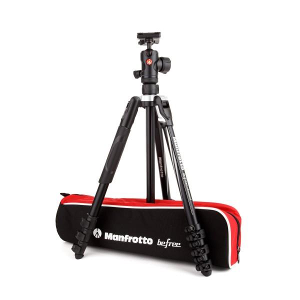 Manfrotto Befree Advanced Alu Reisestativ Kit QPL