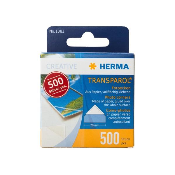 Herma 1383 Transparol Fotoecken