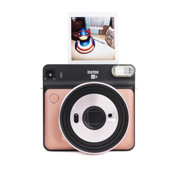 Fuji Instax SQUARE SQ 6 Sofortbildkamera Blush Gold