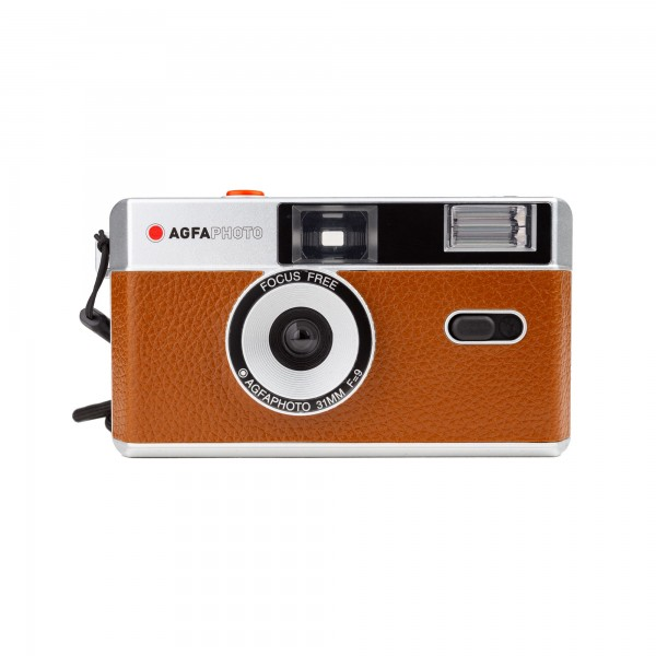 AgfaPhoto analoge Kleinbildkamera braun