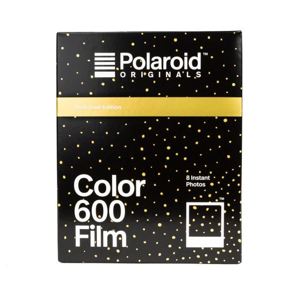 Polaroid 600 Color, -Gold Dust-, 8 Bilder